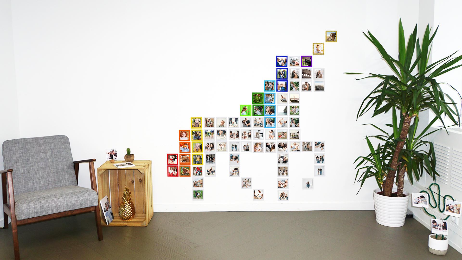 Printiki's office has also gotten a Unicorn Photo Wall.😉