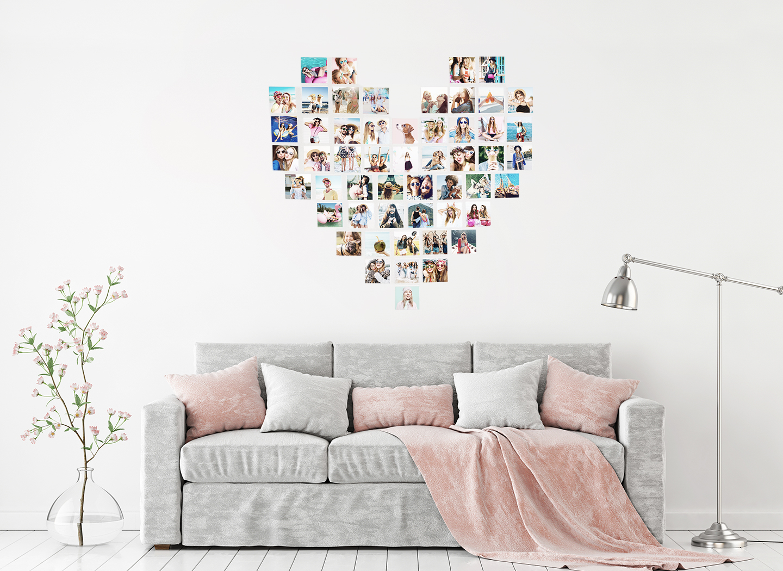 Heart Photo Wall -