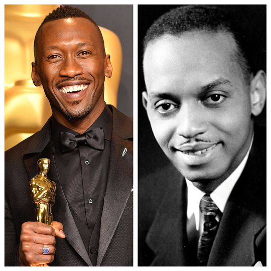 "Academy Award winner Mahershala Ali (left) portrays Pensacola native and musician Don Shirley (right) in the hit movie ""Green Book"" which won Golden Globes for Best Picture (Musical or Comedy), Best Screenplay and for Ali (Best Supporting Actor).   (Photo11: Getty Images)"