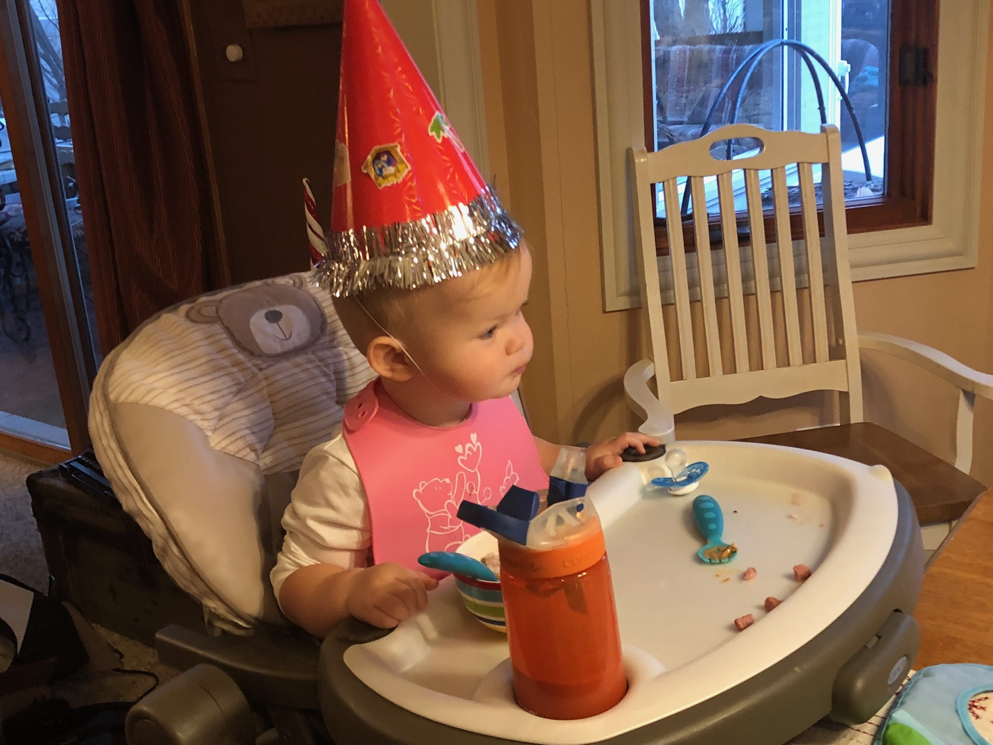 Georgie—Jesus' Birthday celebration.