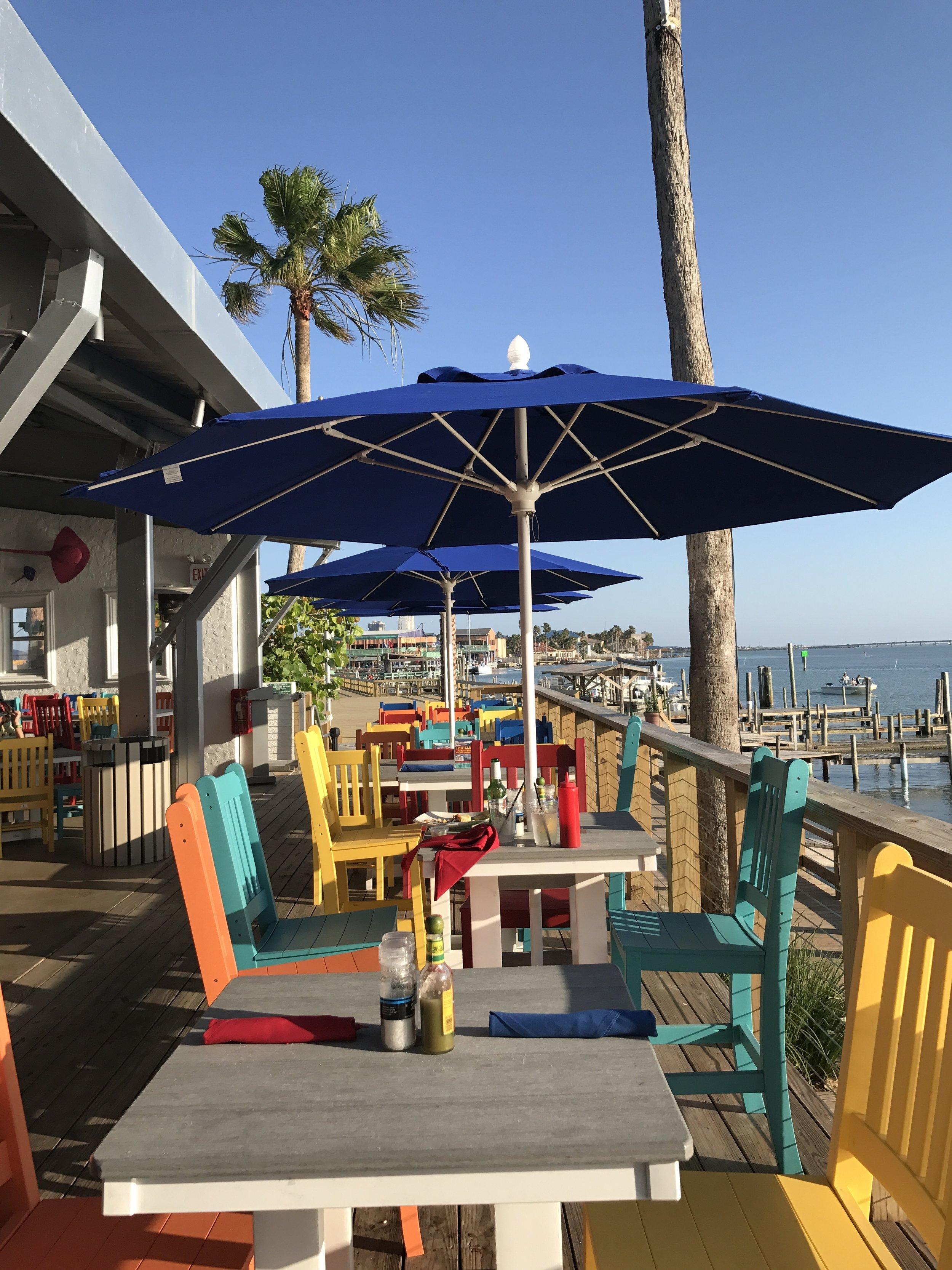 Painted Marlin Grille-currently the newest restaurant/bar on the island.