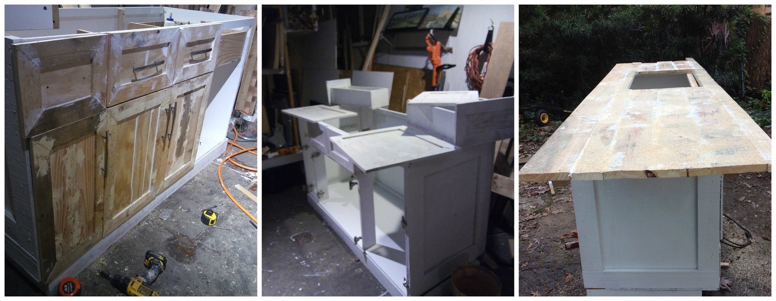 Diy Kitchen Making New Cabinets From Pallet Wood Dawn Kinney Martin