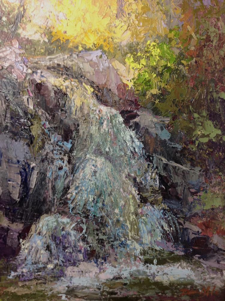 Morning Light 11 X 14 oil on panel - Dawn Kinney Martin     Purchase