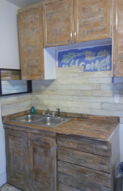 I like these much better and I like the new back splash. Still need trim work, but I'm getting there!