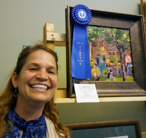Recent Award - First Place in the Perry Invitational Plein Air Quick Paint Competition.