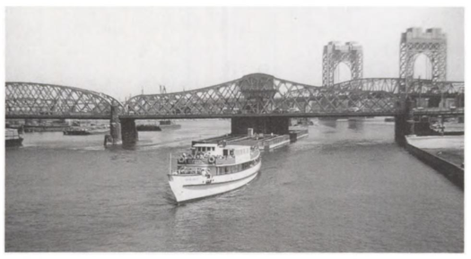 """photo from """"around manhattan island and other maritime tales of new york"""" by brian j. cudahy."""