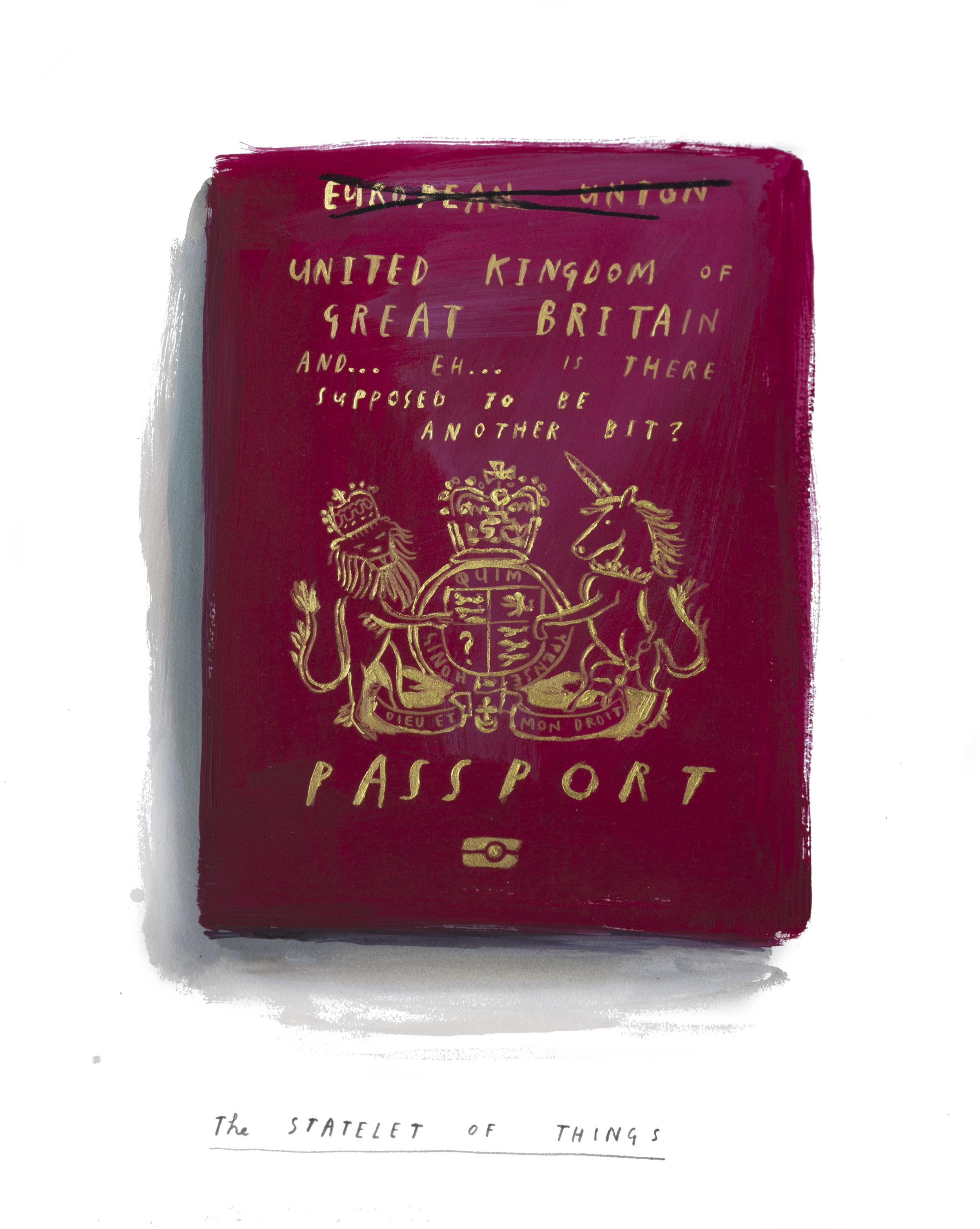 My Northern Irish Passport, 2018