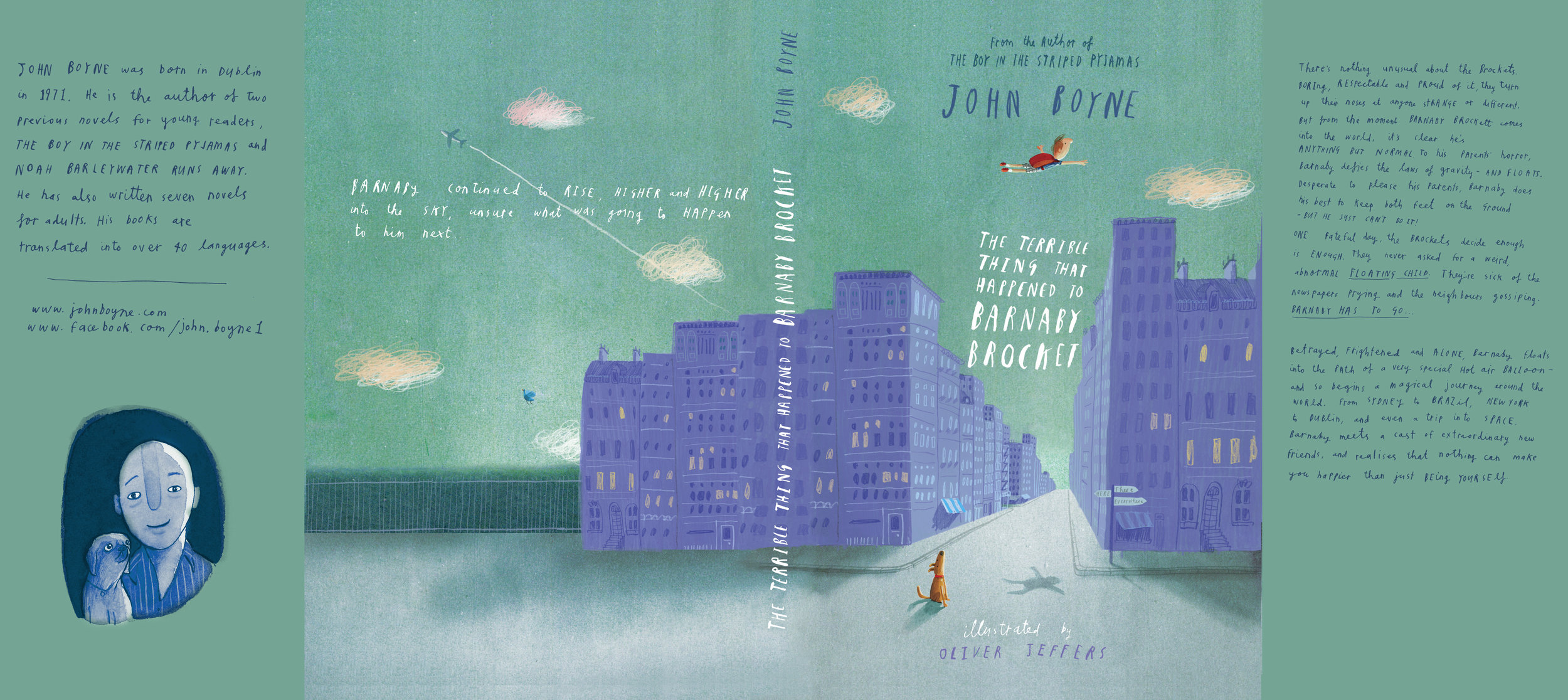 Cover Design for  The Terrible Thing That Happened to Barnary Brocket  by John Boyne