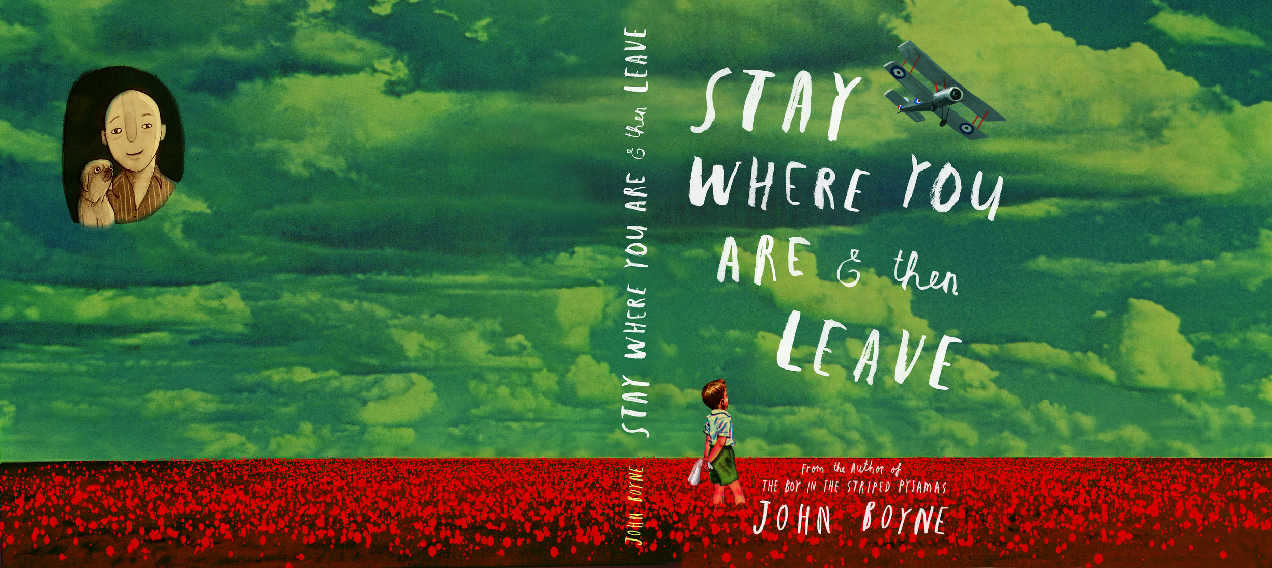 Cover Design for  Stay Where You Are & Then Leave  by John Boyne