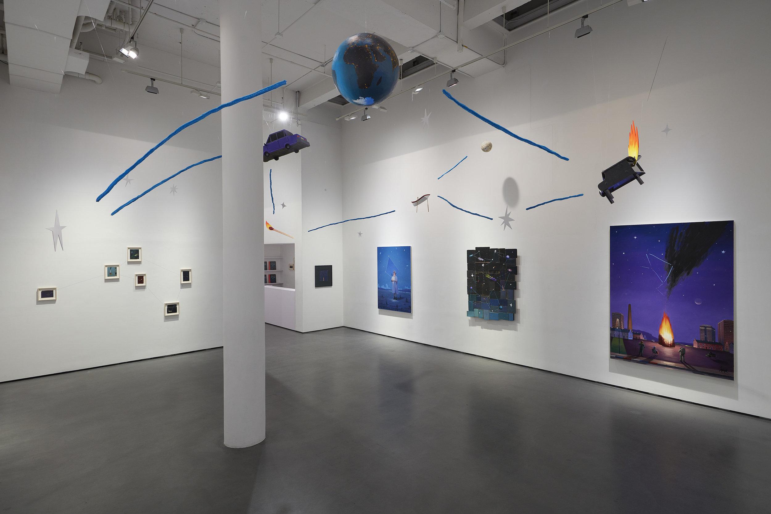 Installation views at Bryce Wolkowitz Gallery