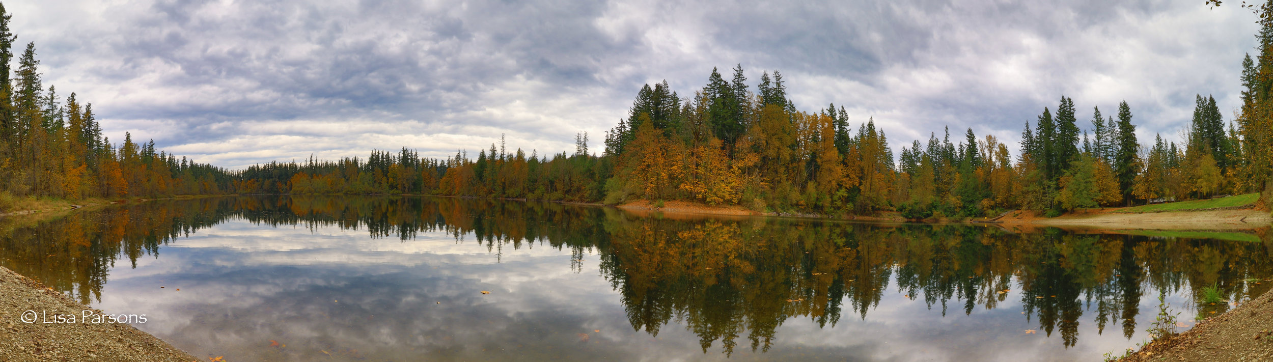 Autumn Color and Moody Skies at Nolte State Park