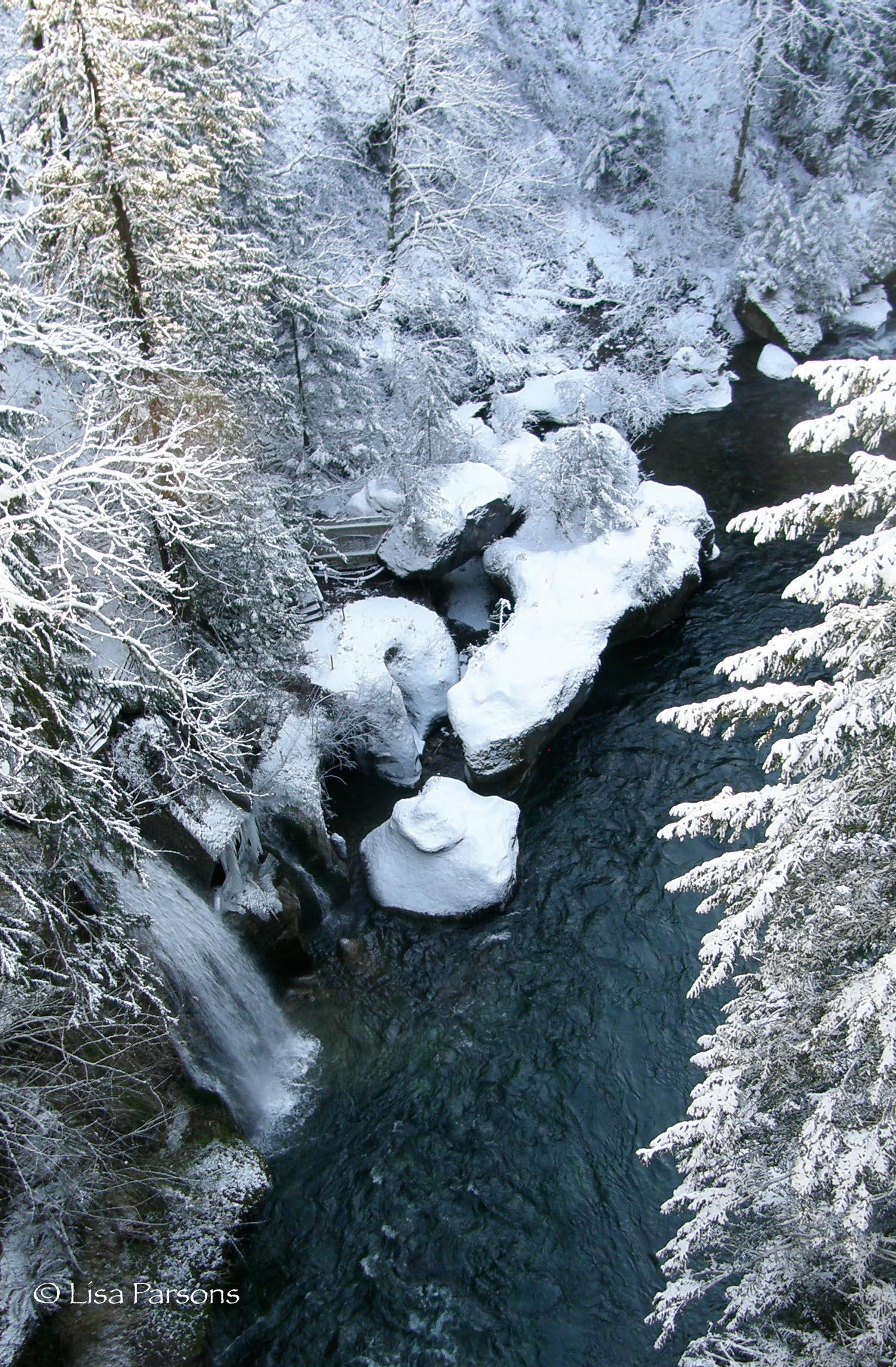 Winter at Paradise Falls