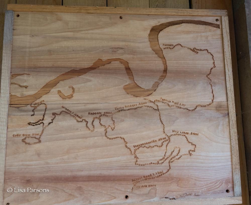 Map of O'Grady