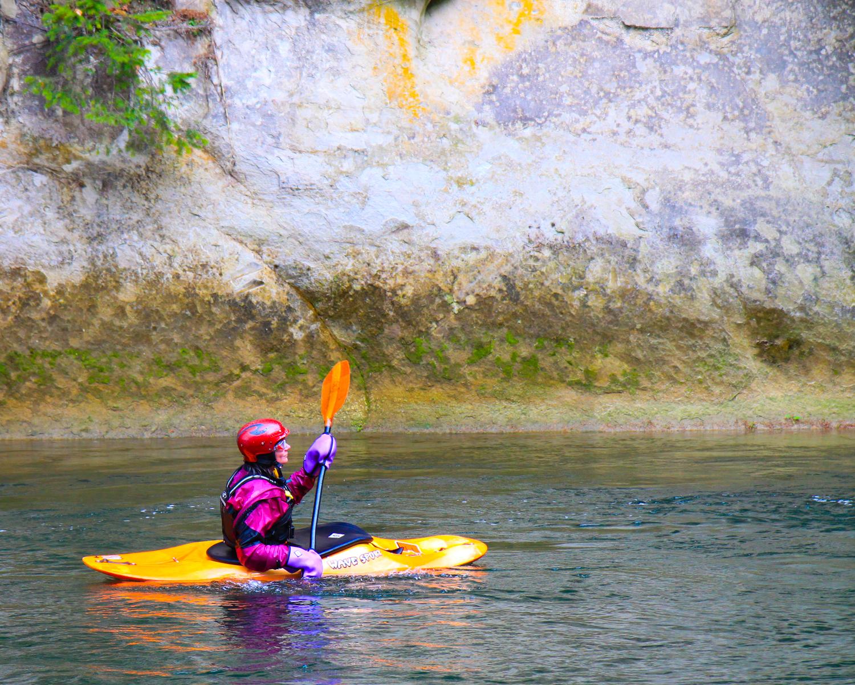 Kayaker at Hanging Gardens