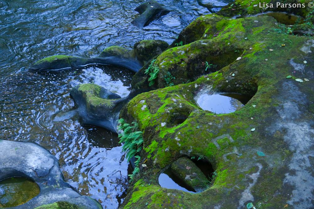 River Carved Sandstone