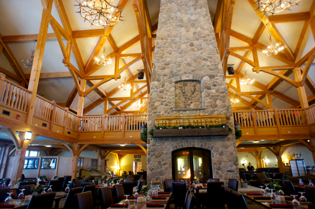 The Club House includes 4 different concepts including a chophouse using prime aged beef.