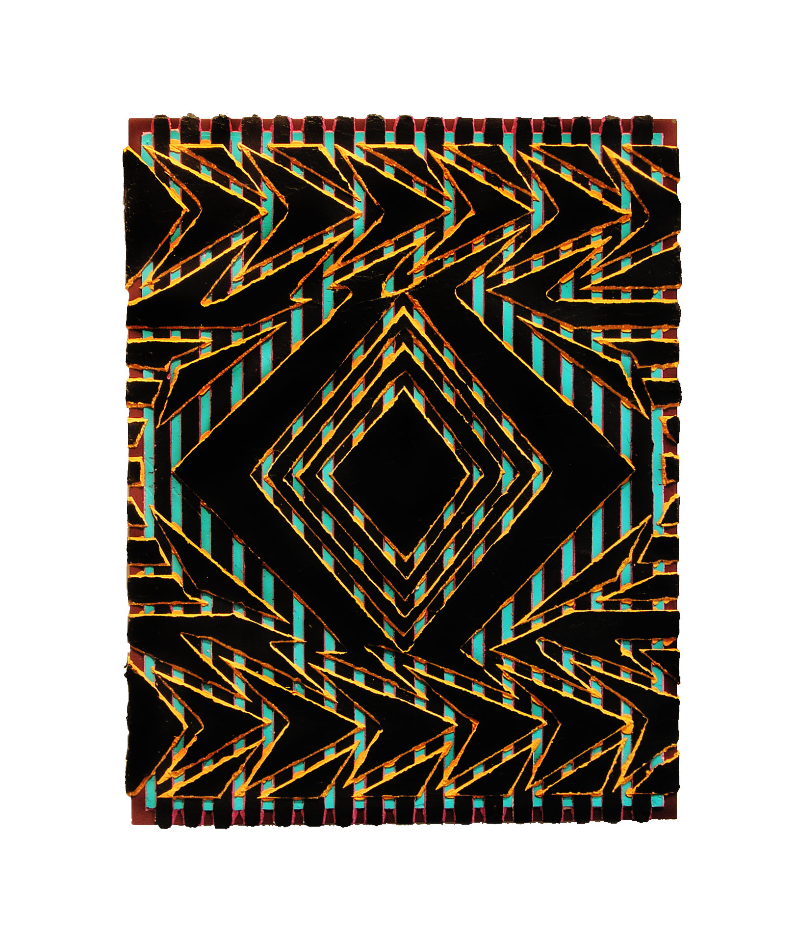 "2005 ""Piper""  Acrylic on Masonite 18H x 14W"