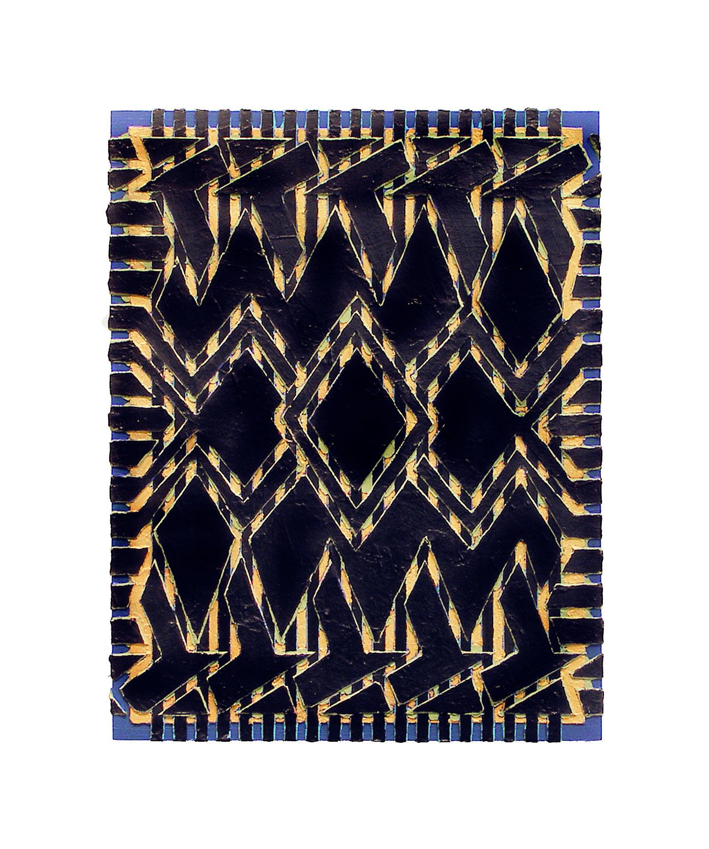 """2005 """"In Sync""""  Acrylic on Masonite 18H x 14W"""