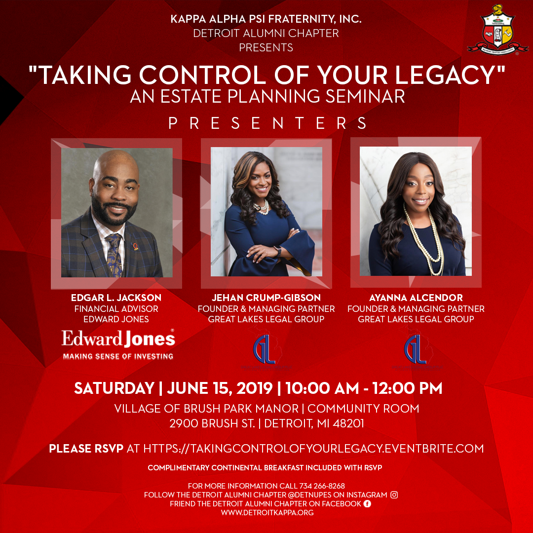 Taking Control of Your Legacy - Estate Planning Seminar - Event Flyer.png