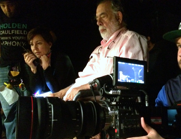 Wendy and Mr. Coppola. No big deal.