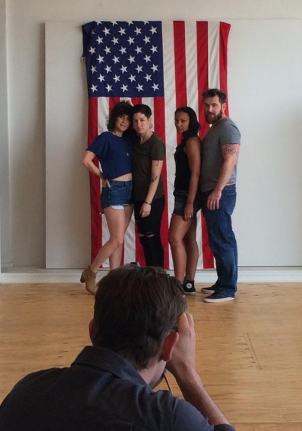 The First Ward Hair Studio Tulsa Blog Photo Shoot July 2015