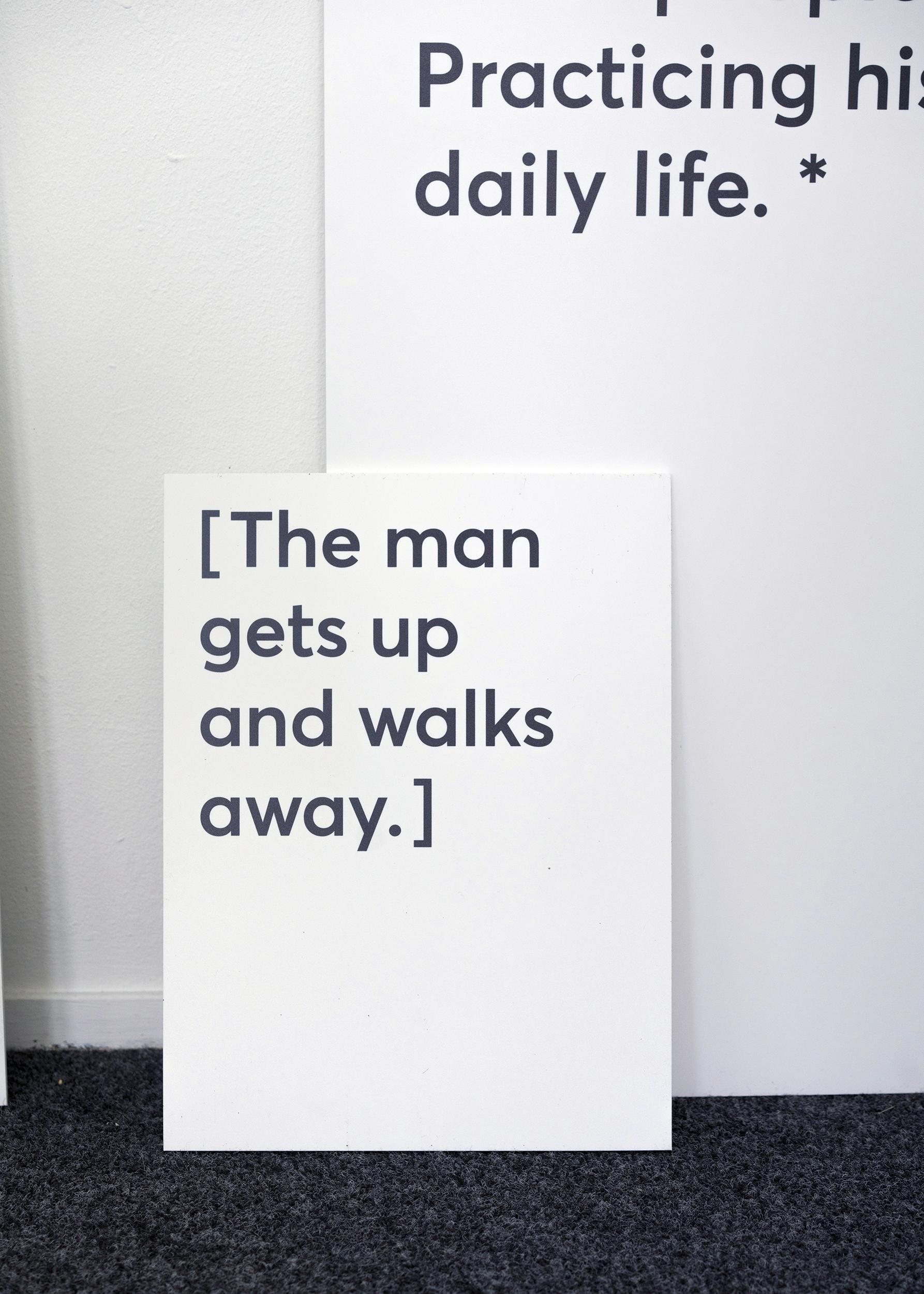 The Speeching Man, 2019