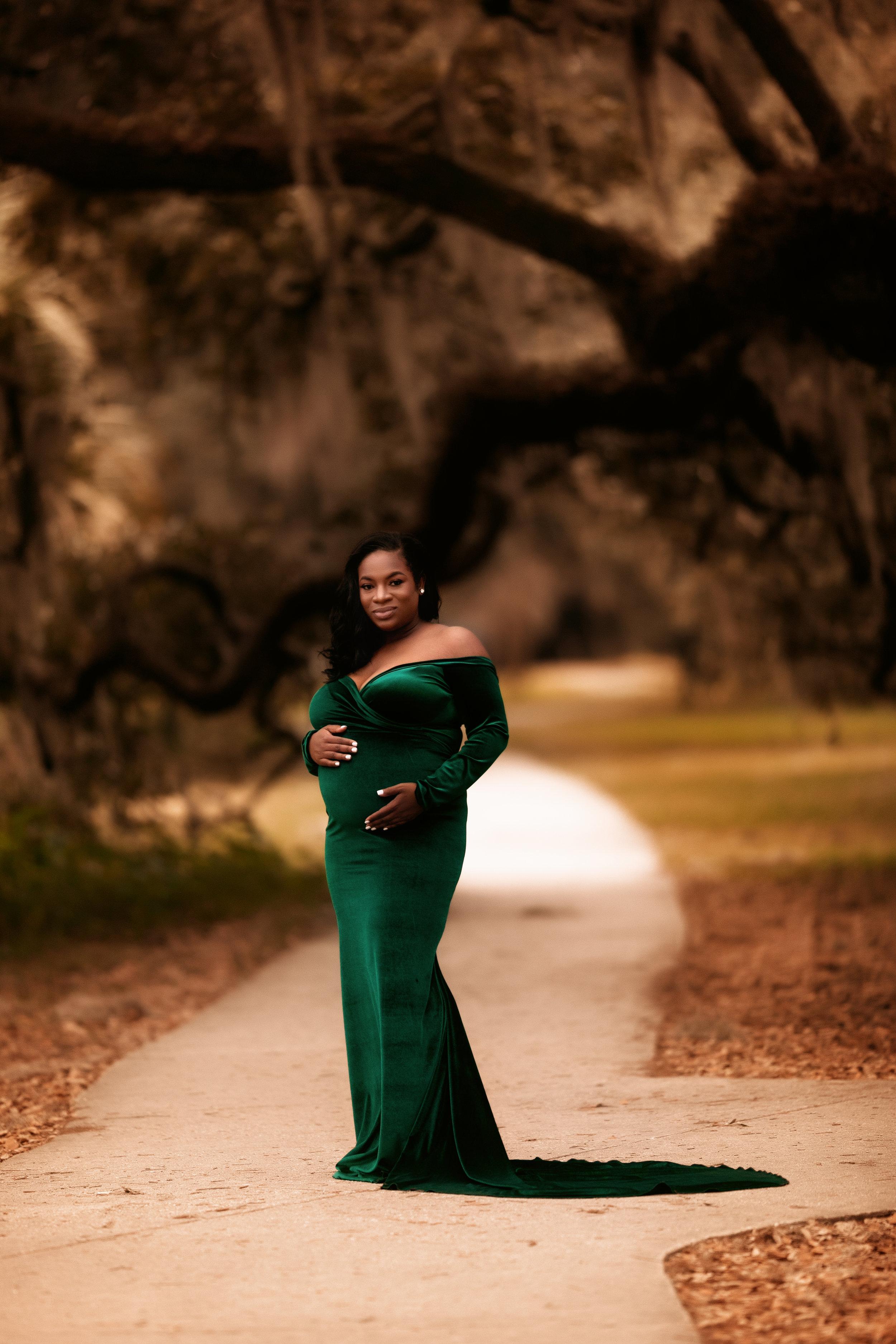Green Velvet/ Large