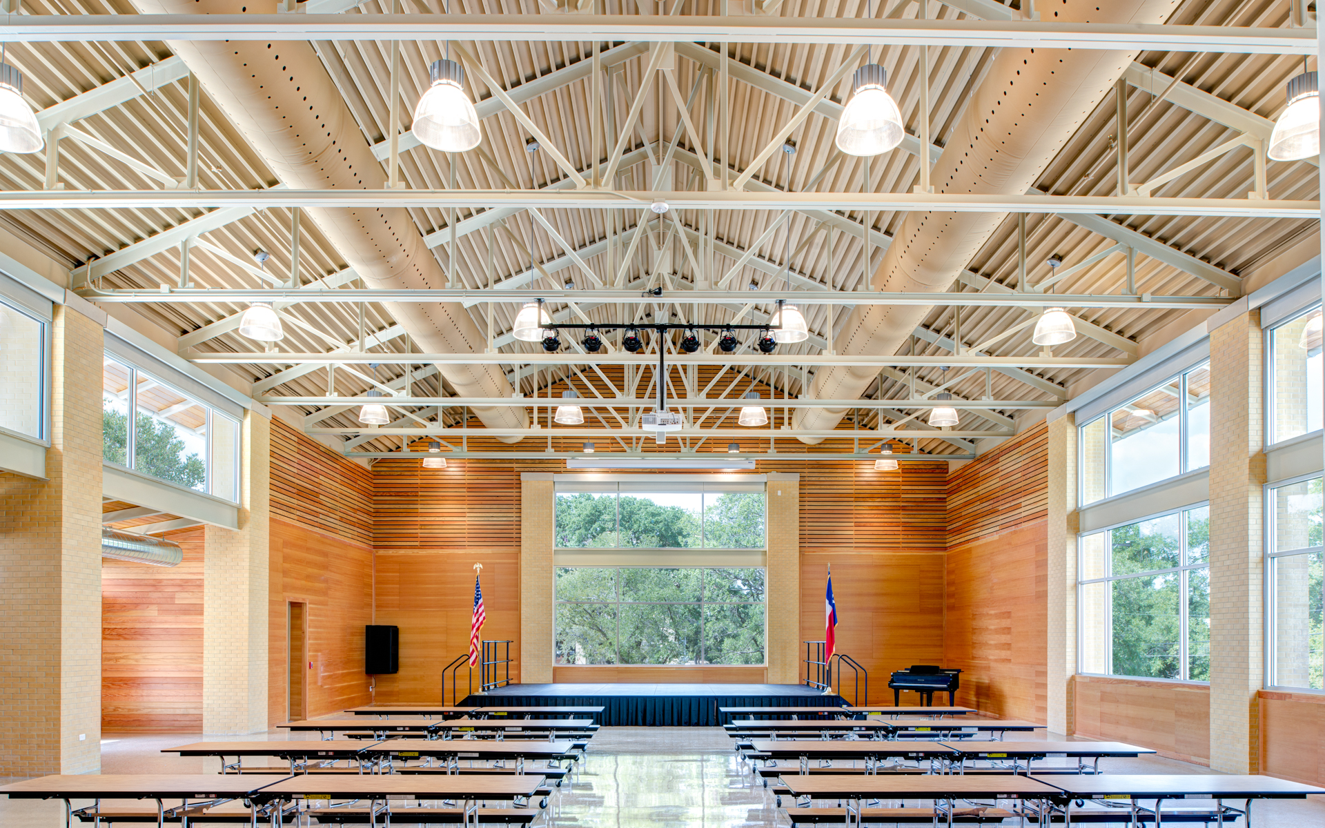 Main Auditorium and Seating