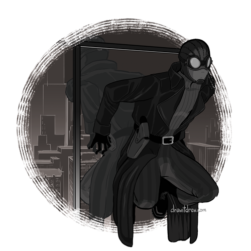 Spider-Man Noir (trench coat)