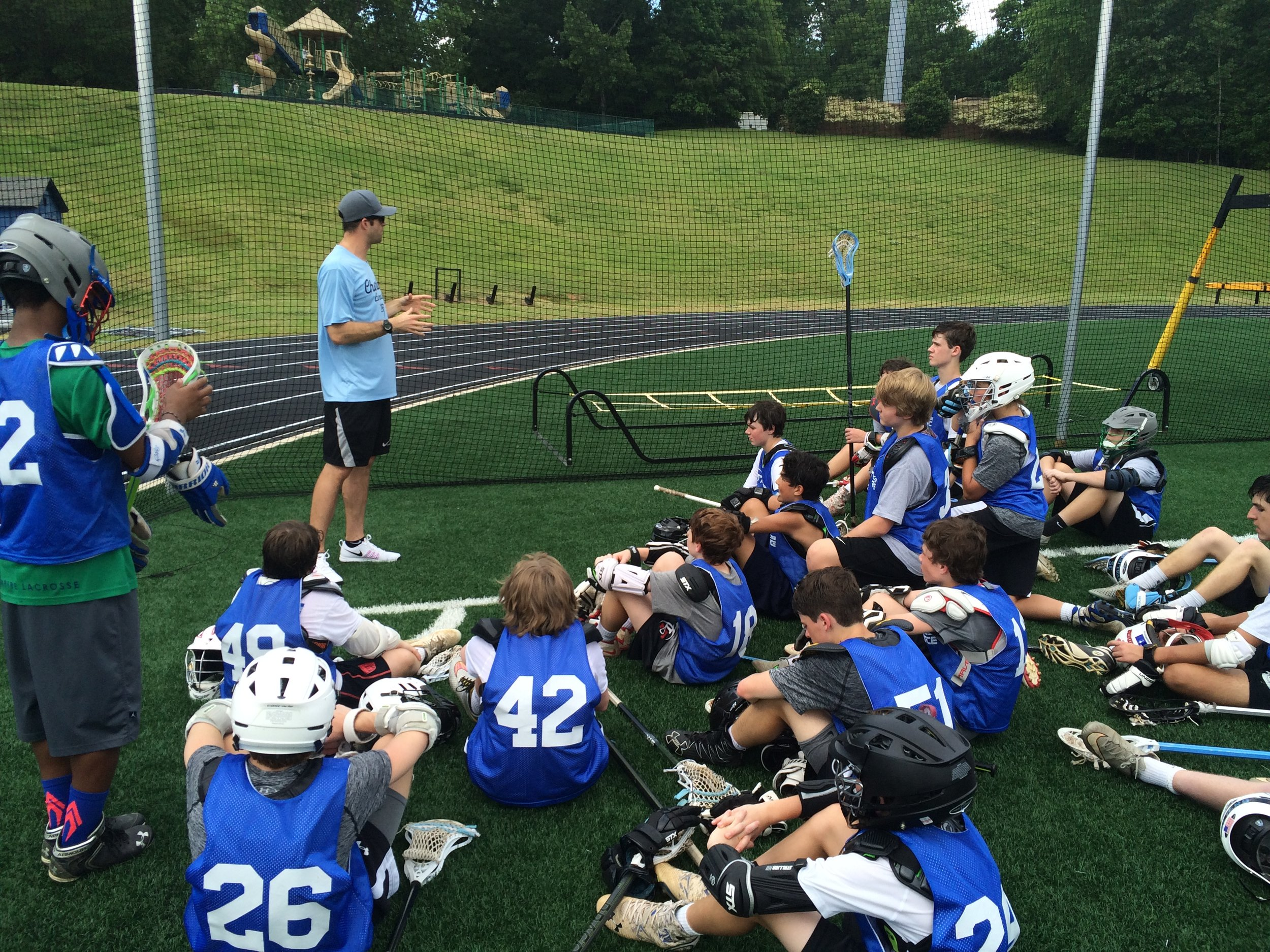 PLL Pro and Director of 24/7, Ryan Flanagan, during our Team 24/7 and Lacrosse Force play day.