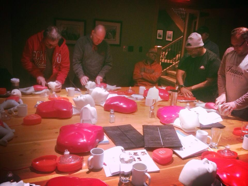 First Aid re-certification for all Downer Contracting employees