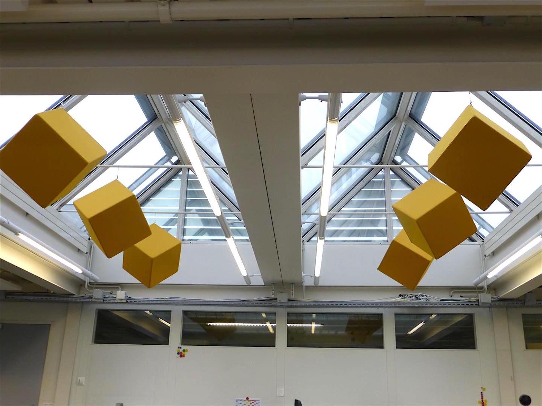 Raumakustik-Schalldämmung-3D-Absorber-Würfel-Zylinder-7