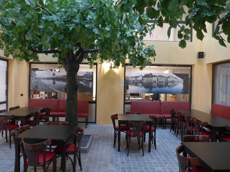 Kopie von Akustikbilder in Cafeteria - Frey & Cie Sicherheit, Rothenburg