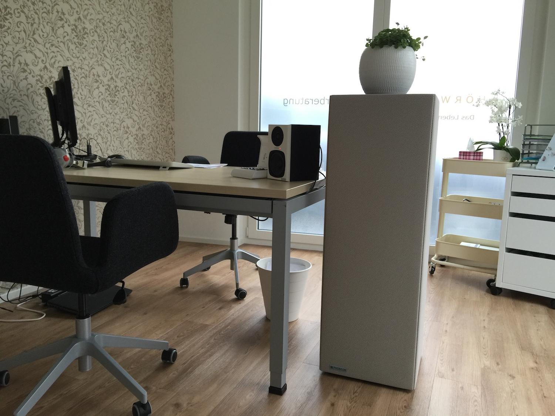 Phoneon Sound Butler für beste Raumakustik im Büro