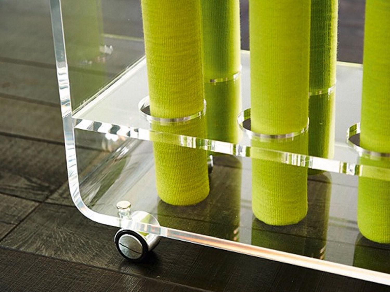 Acoustic Mikado mit Acrylglas-Sockel