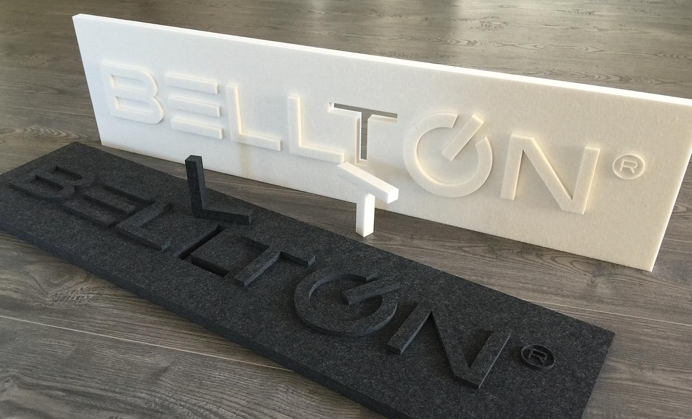 Raumaksutik Bellton Firmelnlogo EchoPanel Schallschutz5