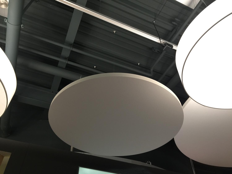Möbel Egger Matratzenstudio Ecophon Solo Akustik-Deckensegel13