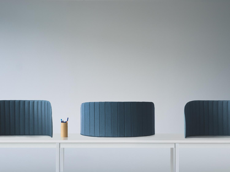 ZilenZio «Focus» - Flexible Akustikwand für Arbeitstisch und Raumgliederung