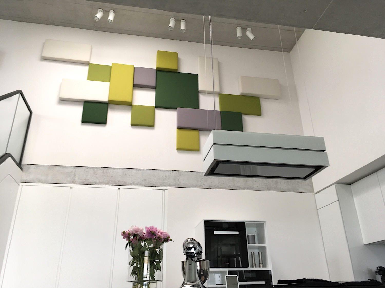 Für allerbeste Raumakustik: Wandabsorber «Frequency» von Johanson Design.
