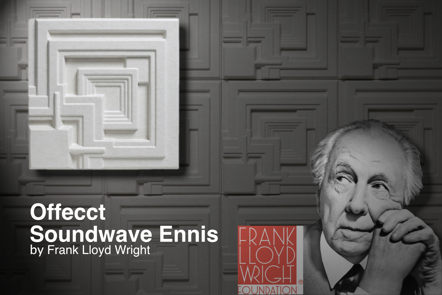 Offecct Soundwave Ennis by Frank Lloyd Wright