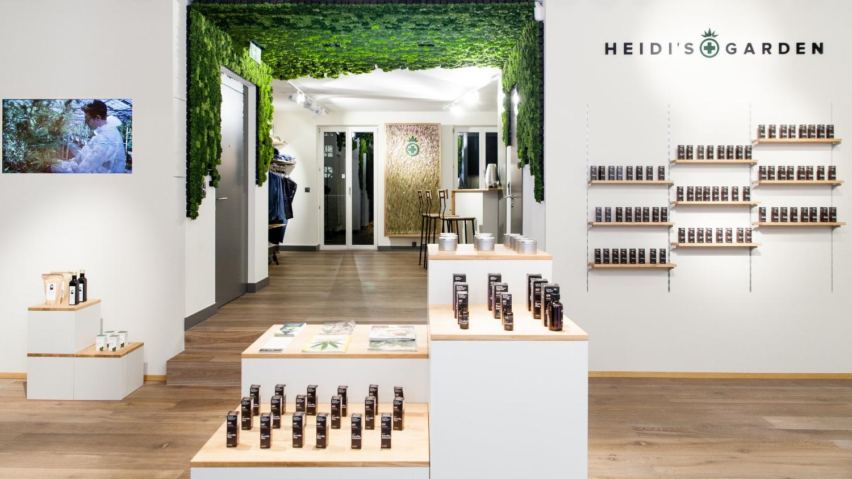 Heidis Garden Shop mit Rentiermoos