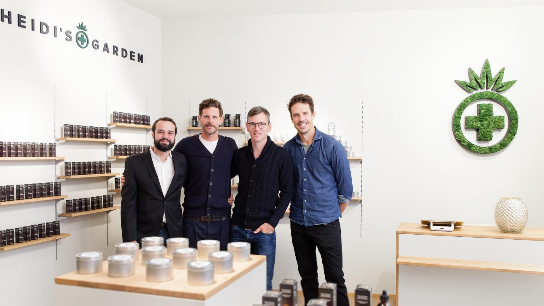 Das Gründerteam von Heidi's Garden