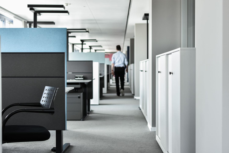 Silence Line Akustik-Tischaufsatz- und Bürotrennwand