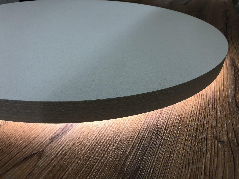 Rundes Deckensegel mit LED