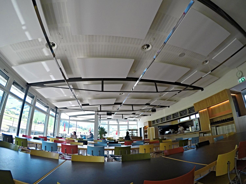 Ecophon Deckensegel Kantonsspital Nidwalden