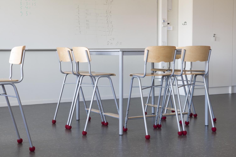 Silent Socks Original Red in der Schule