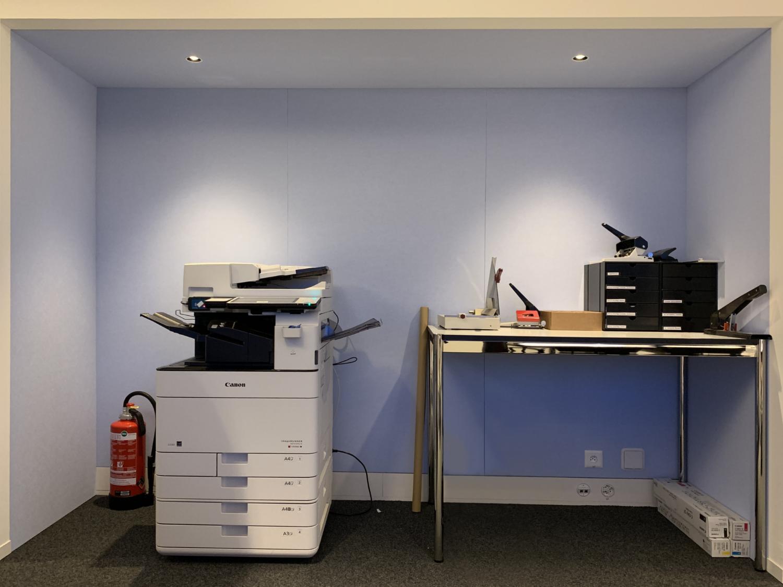 Druckernische Schindler Aufzüge AG