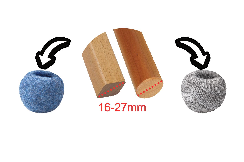 Silent Socks Stuhlbeinsocken/Stuhlgleiter für geräuschlose Stühle