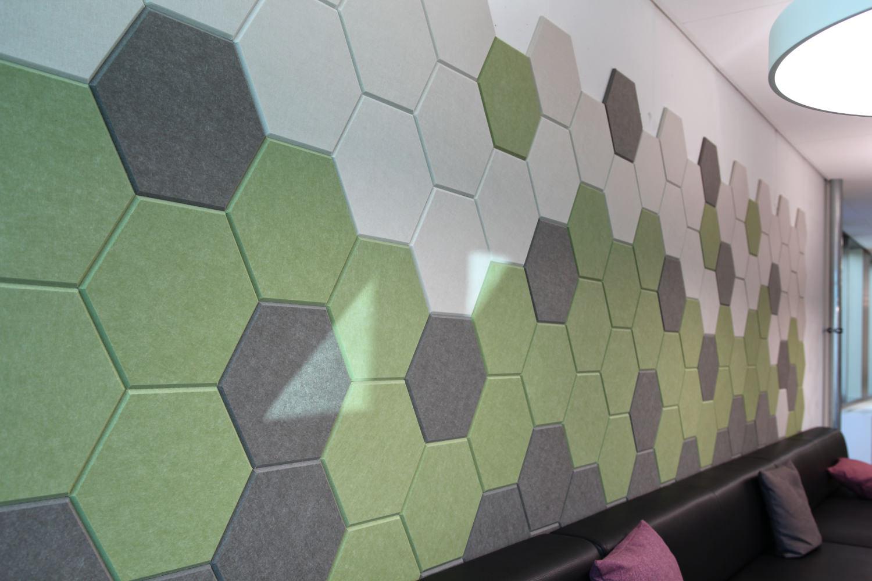 EchoPanel® Wandelemente Hexagon