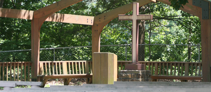 Open Air Chapel Stage